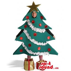 Christmas Tree Plush Mascot...
