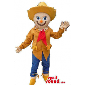 Scarecrow Character Mascot...