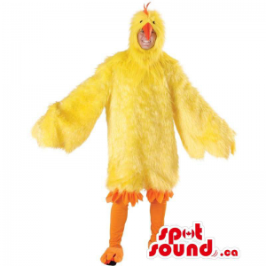 Large Yellow Chicken Or Hen...