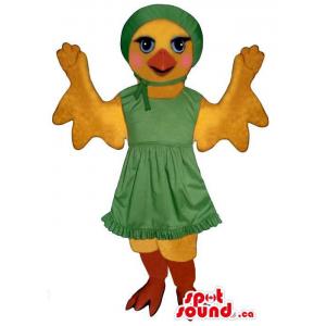 Flashy Yellow Chicken Girl...