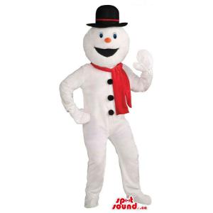 Winter Snowman Mascot...