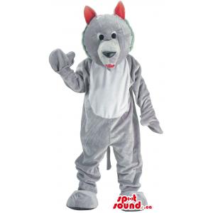 Customised Cute Grey Wolf...