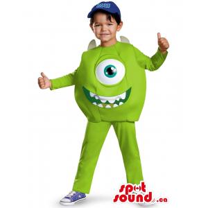 Cute Green Monsters Inc....
