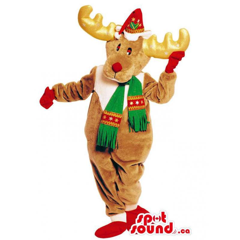 Brown Reindeer Animal...