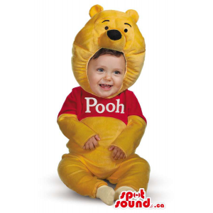 Cute Yellow Winnie The Pooh...