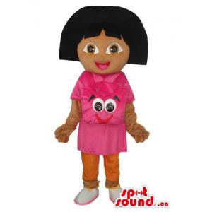 Dark Face Dora The Explorer...