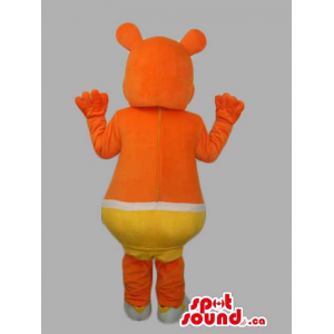 Orange Customised Mascot...