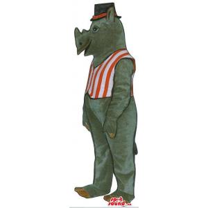 Grey Rhinoceros Plush...