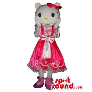Kitty Caráter da mascote do...