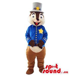 Cute Chipmunk Plush Mascot...