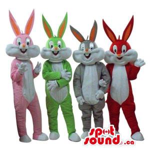Four Bugs Bunny Alike...