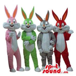 Quatro Bugs Bunny Alike...