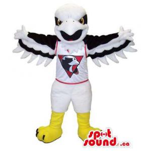 White Eagle Plush Mascot...