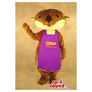 Otter Plush Mascot Dressed...