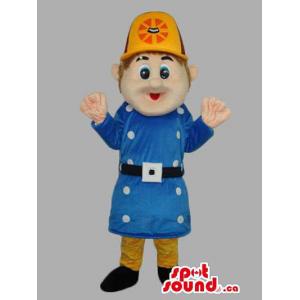 Police Agent Human Mascot...