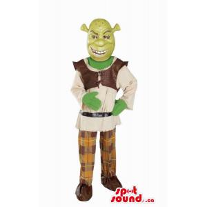 Shrek The Green Ogre...