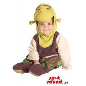 Green Shrek The Ogre Movie...