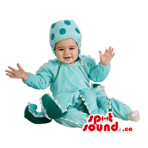 Blue Octopus Toddler Size...