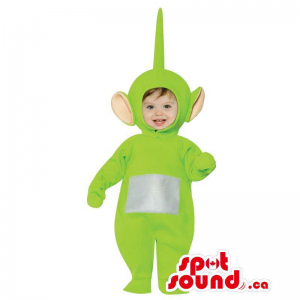 Green Teletubbies Character...