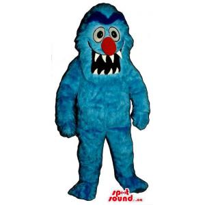 Blue Monster Plush Mascot...