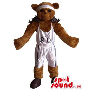 Brown Large Bear Plush...