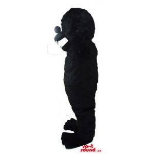 Ferocious gorilla black...