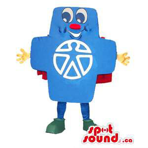 Peculiar Blue Cross Symbol...