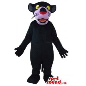 Pink nose black panther...