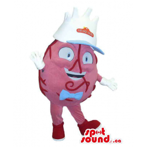 Original Heart Organ Mascot...