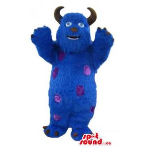 Blue Monster Sully cartoon...