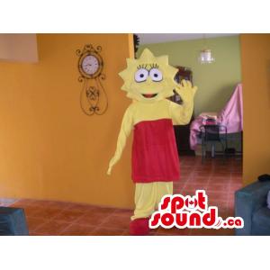 Lisa Simpson Yellow Tv...