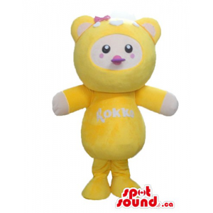 Yellow Baby Teddy Bear...
