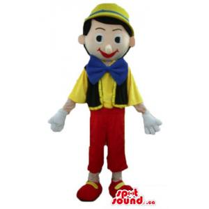Pinocchio cartoon character...