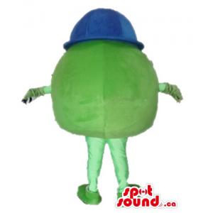 Green Mike Monster cartoon...