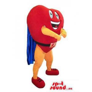 Peculiar Red Heart Mascot...