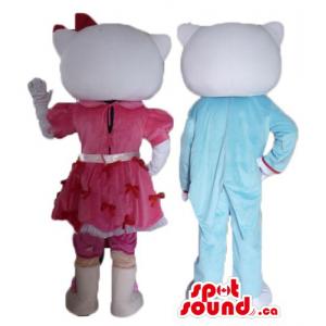 Hello Kitty macho y hembra...