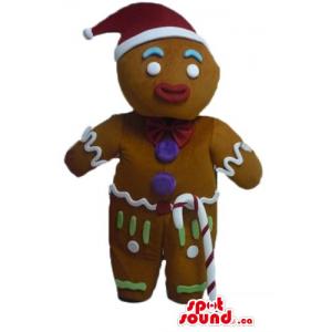 Mr Gingerbread in Santa's...