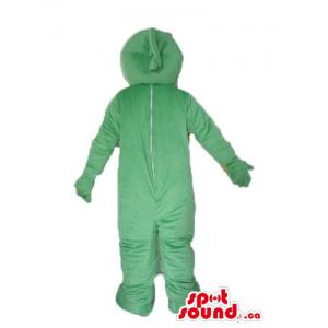 Deluxe green plush monster...