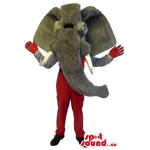 Grey Mammoth Pre-Historical...