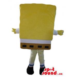 Yellow SpongeBob cartoon...