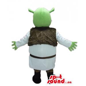 Green funny Shrek cartoon...
