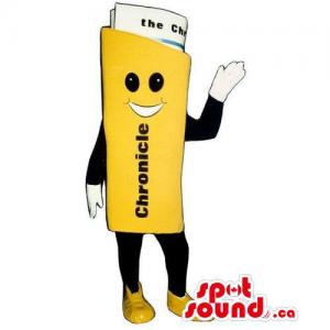 Customised Newspaper Mascot...