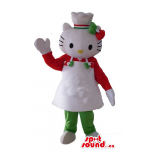 Cook chef Hello Kitty...
