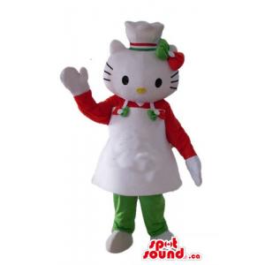 Cozinheiro chefe traje Olá...