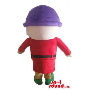 Seven dwarfs red dress and...