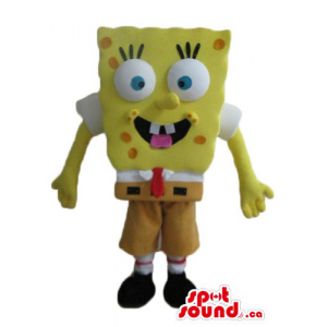 Yellow Sponge Bob cartoon...