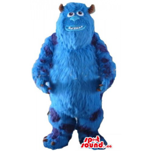 Blu monster Sully cartoon...