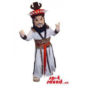 Asian Inspired Human Mascot...