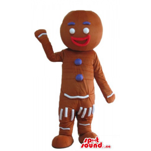 Smiling Mr Gingerbread...