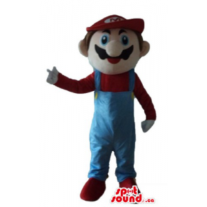 Super Mario cartoon...